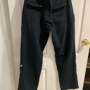 Black lululemon sweatpants